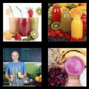 4 Pics 1 Word 8 Letters Answers Smoothie