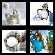 4 Pics 1 Word 8 Letters Answers Snowball