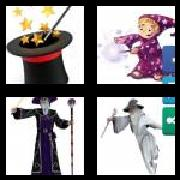 4 Pics 1 Word 8 Letters Answers Sorcerer