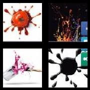 4 Pics 1 Word 8 Letters Answers Splatter