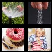 4 Pics 1 Word 8 Letters Answers Sprinkle