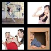 4 Pics 1 Word 8 Letters Answers Startled