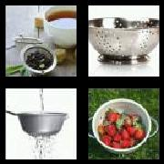 4 Pics 1 Word 8 Letters Answers Strainer