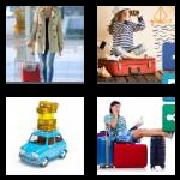4 Pics 1 Word 8 Letters Answers Suitcase