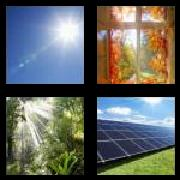 4 Pics 1 Word 8 Letters Answers Sunlight