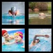 4 Pics 1 Word 8 Letters Answers Swimming