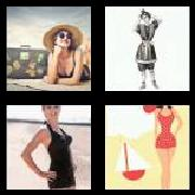 4 Pics 1 Word 8 Letters Answers Swimsuit