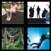4 Pics 1 Word 8 Letters Answers Swinging