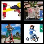4 Pics 1 Word 8 Letters Answers Tricycle