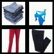 4 Pics 1 Word 8 Letters Answers Trousers