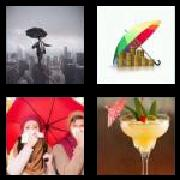 4 Pics 1 Word 8 Letters Answers Umbrella