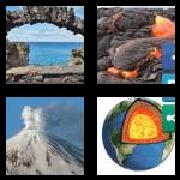 4 Pics 1 Word 8 Letters Answers Volcanic