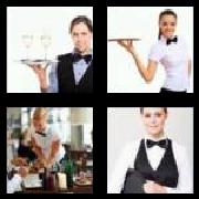 4 Pics 1 Word 8 Letters Answers Waitress