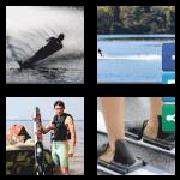 4 Pics 1 Word 8 Letters Answers Waterski