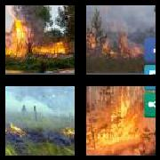 4 Pics 1 Word 8 Letters Answers Wildfire