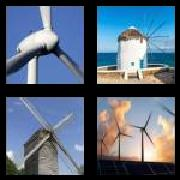 4 Pics 1 Word 8 Letters Answers Windmill