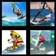 4 Pics 1 Word 8 Letters Answers Windsurf