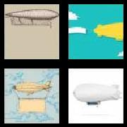 4 Pics 1 Word 8 Letters Answers Zeppelin